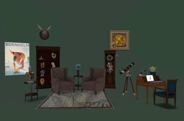 The Explorer's Study - created by kaerri