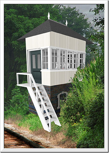 A petite signal box from Sweetbay Designs