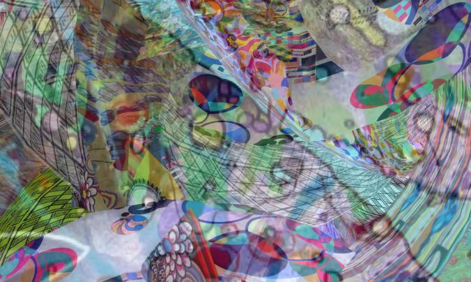 """A piece of """"Ce n'est pas une peinture"""" by Gracie Kendal"""